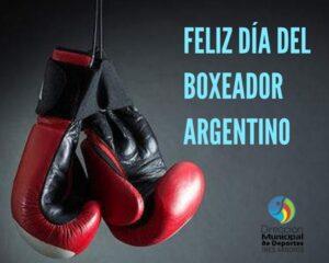 La Dirección de Deportes saluda a los boxeadores en su día