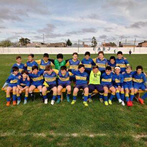 """Fútbol: Triunfos """"Xeneizes"""" en la Copa Hugo Silvestre"""