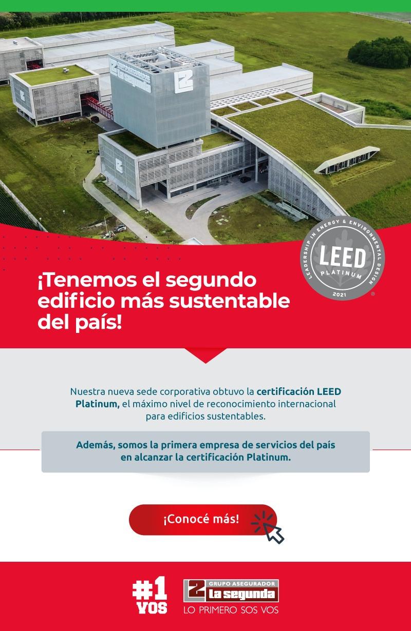 La nueva sede de La Segunda fue certificada a nivel internacional como edificio sustentable (video)