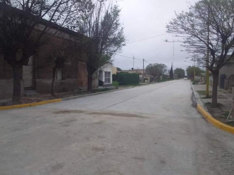 Orense: tras una reparación integral, hoy se puede volver a transitar por Rivadavia