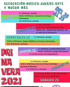 Festejos por la semana de la primavera en Chaves