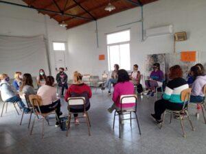 Se realizó la jornada de reflexión para mujeres de Juan Eulogio Barra