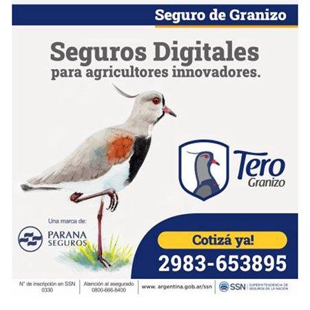 Paraná Seguros y Tero granizo la mejor opción del mercado asegurador