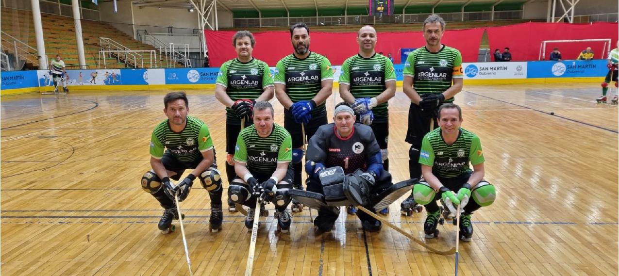 Hockey sobre patines: gran actuación de Municipal en la Liga Nacional Master