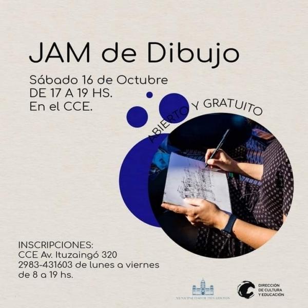 """El Centro Cultural La Estación ofrece un """"jam de dibujo"""" con modelo vivo y jazz"""