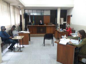 Debaten un caso de violencia de género en el Tribunal Oral Criminal