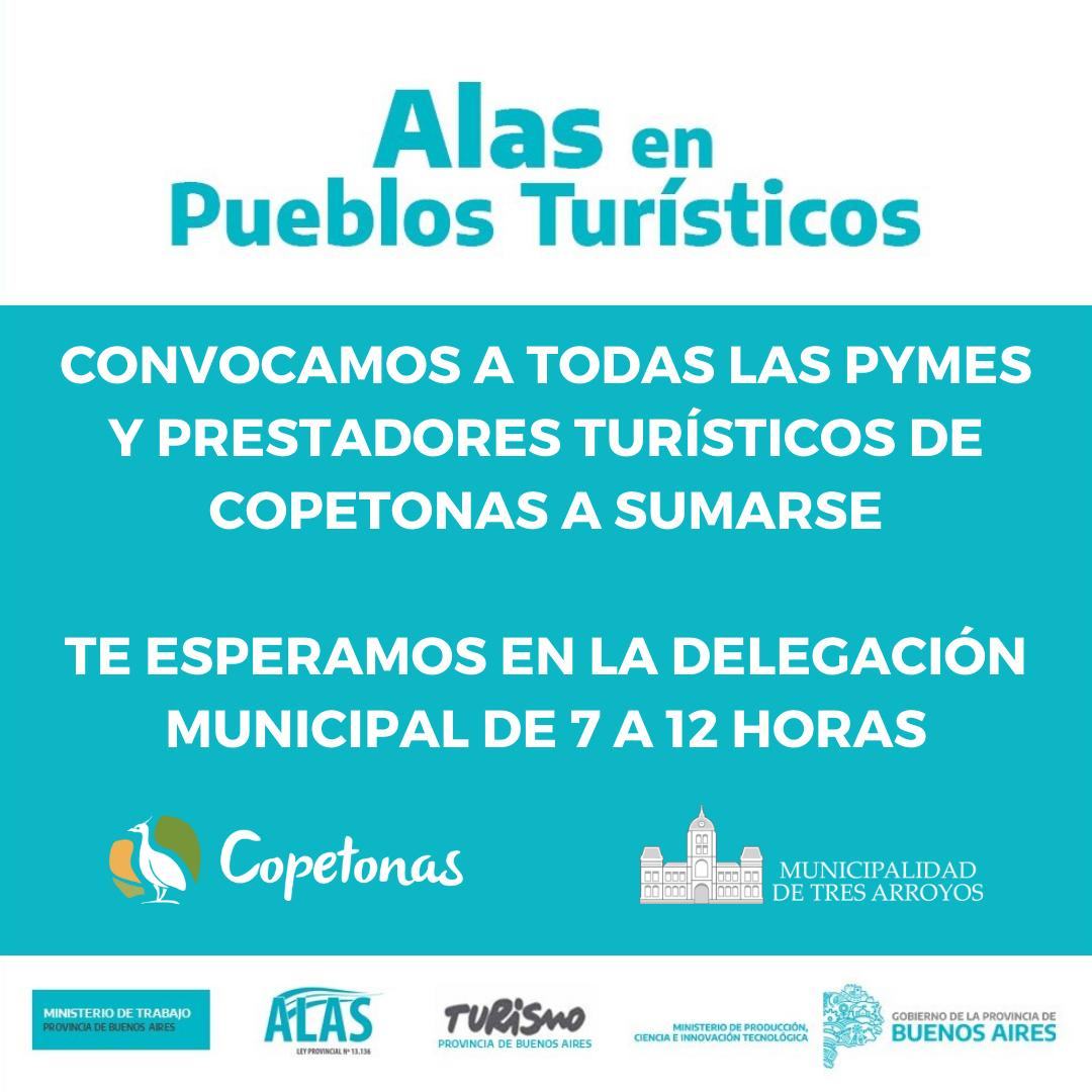 Copetonas: invitan a PyMEs a sumarse al programa ALAS