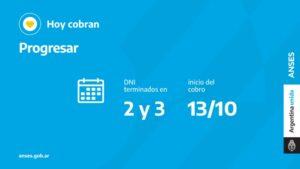 ANSES calendarios de pago miércoles 13