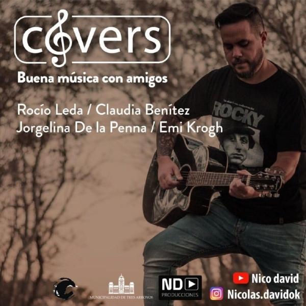 """""""Covers con Amigos"""" en el Centro Cultural La Estación"""
