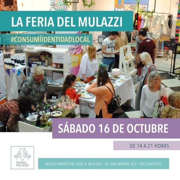 Feria de emprendedores y productores  en el Mulazzi