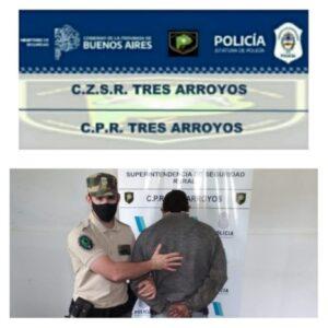 Personal del CPR aprehendió a tres hombres con pedidos de captura