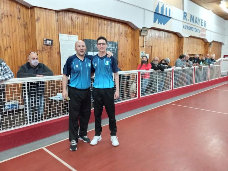 Bochas: Club de Pelota se quedó con el primer juego