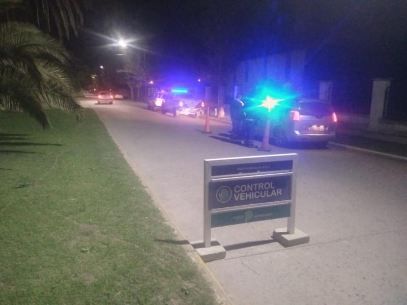 Operativos policiales en Adolfo Gonzales Chaves