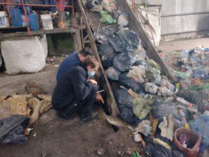 Nueva pala cargadora para la Planta de Separación de Residuos de Bellocq