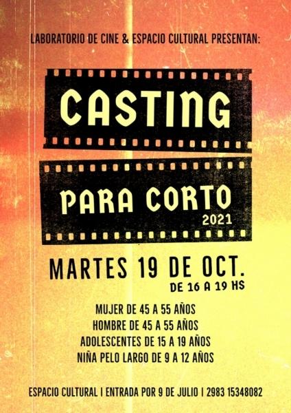 San Cayetano: Casting para participar de un cortometraje