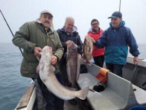 Otra excepcional jornada de pesca desde las lanchas de Desafío